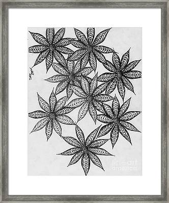 Lost Flowers Framed Print