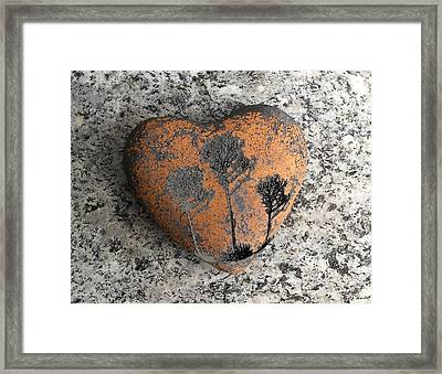 Framed Print featuring the photograph Lost Heart by Juergen Weiss