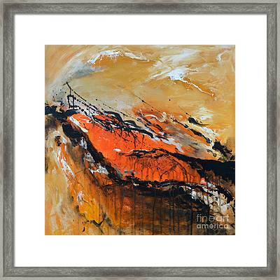 Lost Hope - Abstract Framed Print