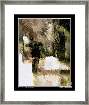 Lost Identity Framed Print