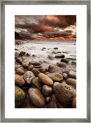 Lost In A Moment Framed Print by Jorge Maia