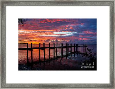 Lost In A Tropical Island Dream Framed Print by Rene Triay Photography