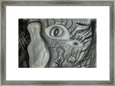 Lost In Chaos Framed Print