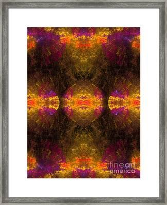 Framed Print featuring the digital art Lost In Colors by Hanza Turgul