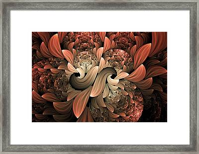 Lost In Dreams Abstract Framed Print by Georgiana Romanovna