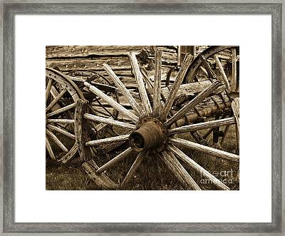 Lost In History Framed Print by Roxanne Marshal