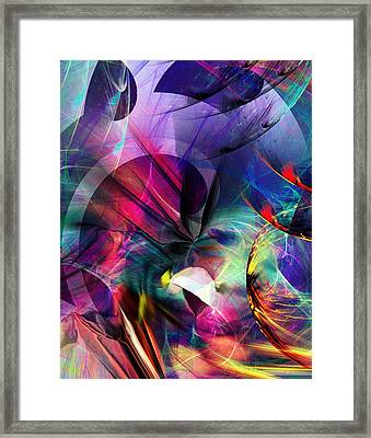 Lost In Hyperspace Framed Print by David Lane