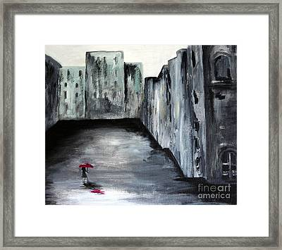 Lost In Life Framed Print