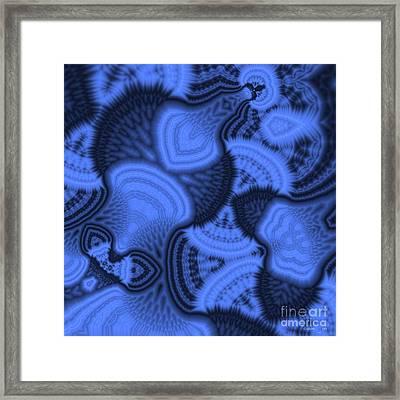 Lost In Sea's Depth Framed Print by Aymen Tabib