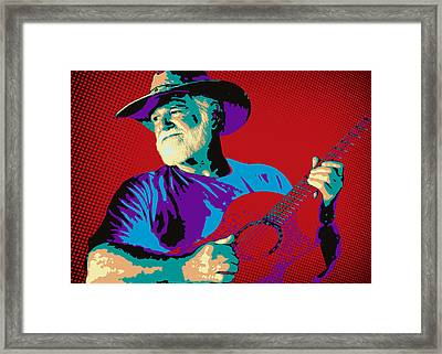 Jack Pop Art Framed Print