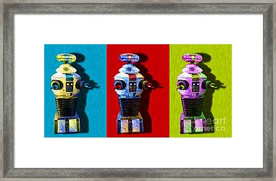 Lost In Space Robot 3 - 20130117 Framed Print