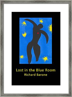 Lost In The Blue Room Framed Print by Richard Barone