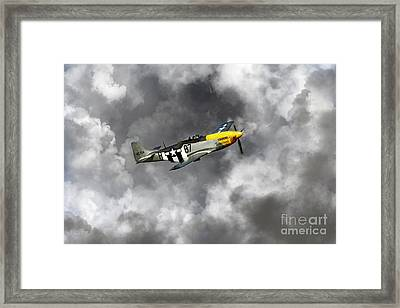 Lost In The Clouds Framed Print by J Biggadike