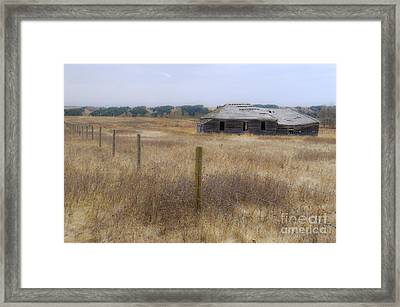 Lost In The Past Framed Print
