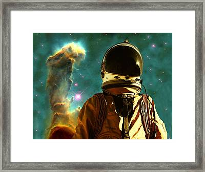 Lost In The Star Maker Framed Print by Matthew Lacey