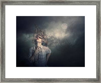 Framed Print featuring the photograph Lost In The Wind by Brian Tarr