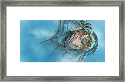 Lost In Thought Eternal Framed Print by Richard Pennells