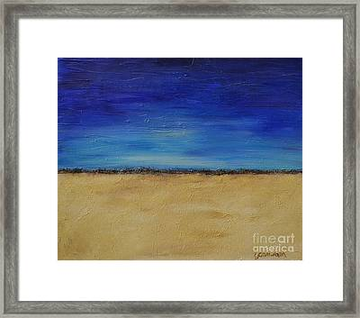 Lost In Thought Framed Print by Lori Jacobus-Crawford