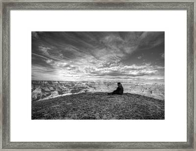Lost In Thoughts Framed Print by Kiril Kirkov