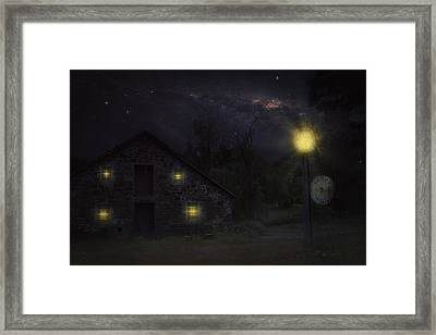 Lost In Time Framed Print by Kim Zier