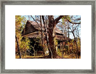 Lost In Time Framed Print by Lisa Wooten