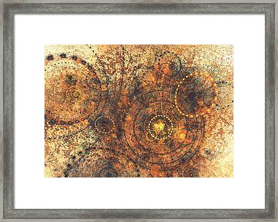 Lost In Time Framed Print by Martin Capek
