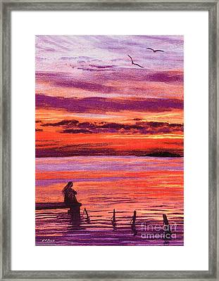 Lost In Wonder Framed Print by Jane Small