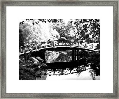 Lost Lagoon Bridge  Framed Print by Will Borden
