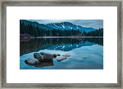 Lost Lake Framed Print