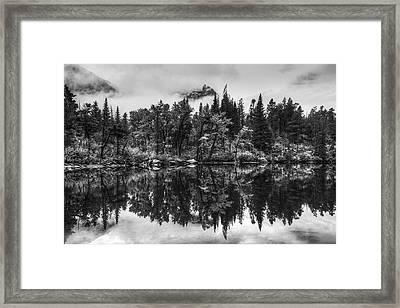 Lost Lake Framed Print by Mark Kiver