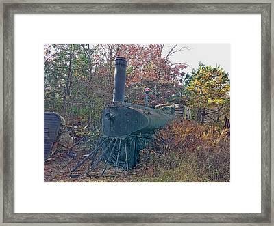 Lost Locomotive Framed Print