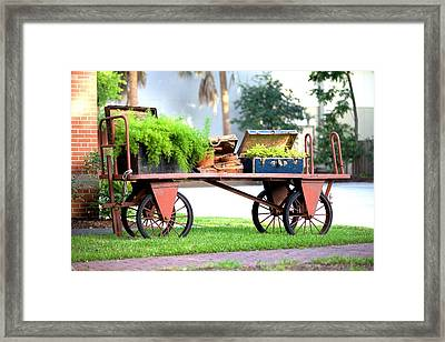 Framed Print featuring the photograph Lost Luggage by Gordon Elwell