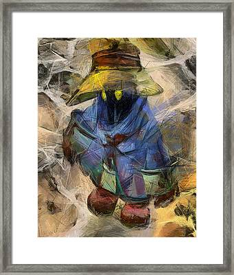 Lost Mage Framed Print