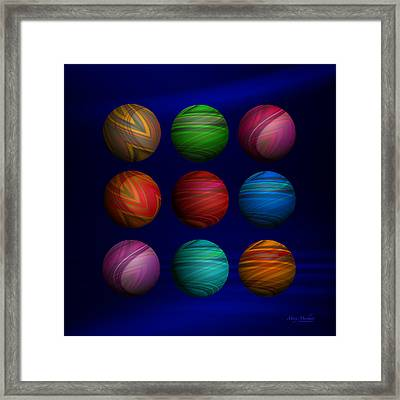 Lost My Marbles Framed Print by Mary Machare
