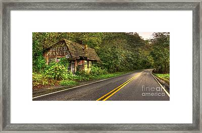 Lost Opportunity Great Smokey Mountains Framed Print by Reid Callaway