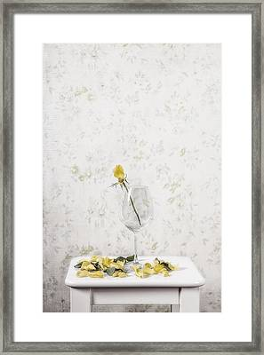 Lost Petals Framed Print