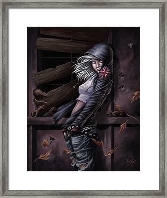 Lost Princess Framed Print by Bryan Syme