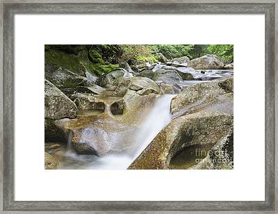 Lost River - Kinsman Notch New Hampshire Usa  Framed Print by Erin Paul Donovan
