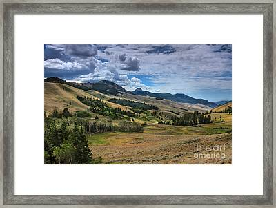 Lost River Valley Framed Print