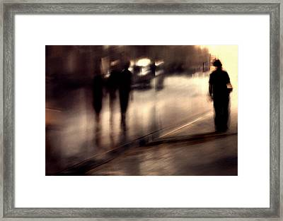 Lost Shadows Framed Print