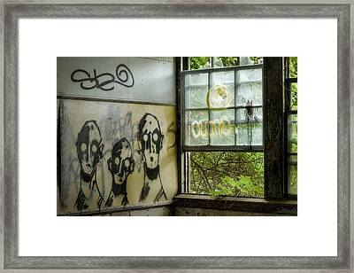 Lost Souls - Abandoned Places Framed Print