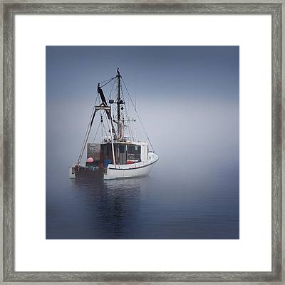 Lost Square Framed Print by Bill Wakeley