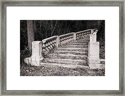 Lost Staircase Framed Print by Olivier Le Queinec