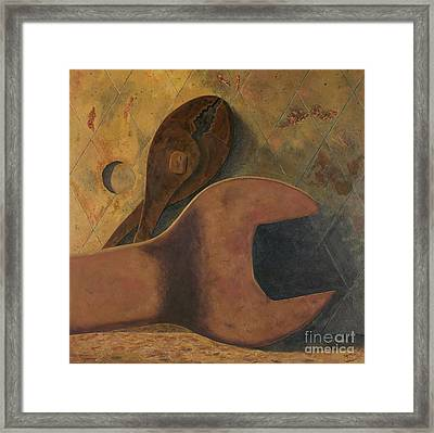 Lost Tools Framed Print by Garry McMichael