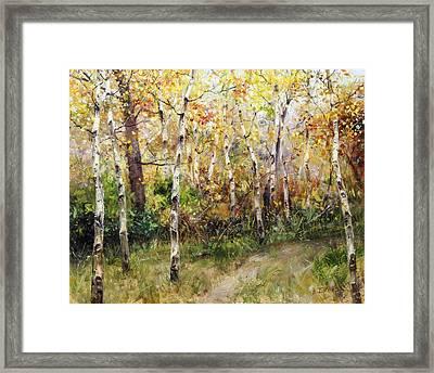Lost Trail Found Framed Print by Bill Inman
