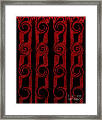 Lost Tribes Framed Print