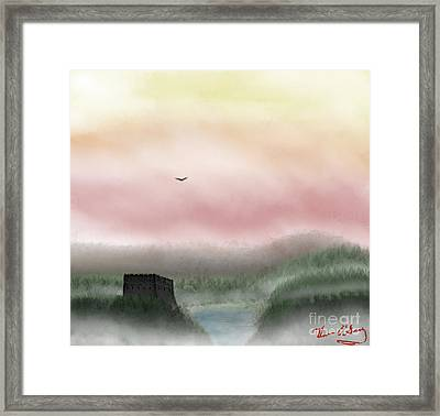 Lost Valley Framed Print