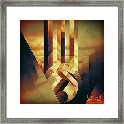 Lost Variation Framed Print by Lonnie Christopher
