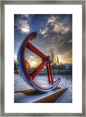 Lost Wheel Framed Print by Nathan Wright
