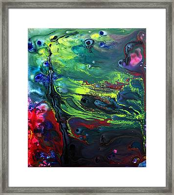 Lost World 2 Framed Print by Laura Barbosa